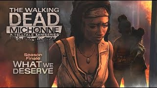 """The Walking Dead: Michonne Episode 3 All Cutscenes (Game Movie) """"What We Deserve"""" 1080p HD"""