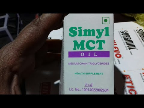 #Simyl MCT Oil | Use | Dosage | Benefits | Price | Compostion | Side Effect |  Hindi Review