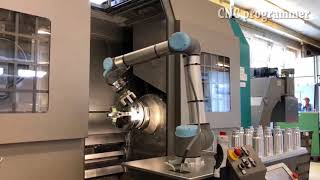 Robot Cnc Lathe Robotic System