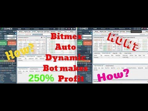 Scalping Leverage Margin bitMEX Trading BOT & free Bitmex Signal on