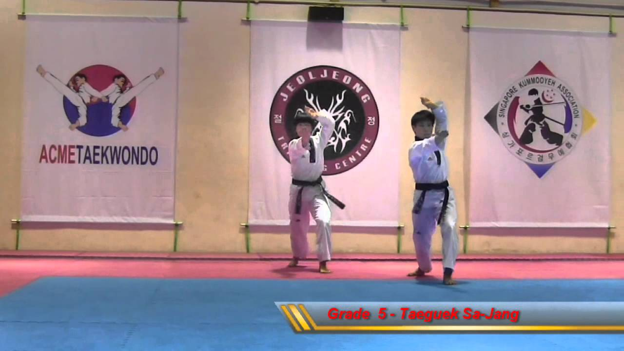 Taeguek Sa-Jang (Grade 5)