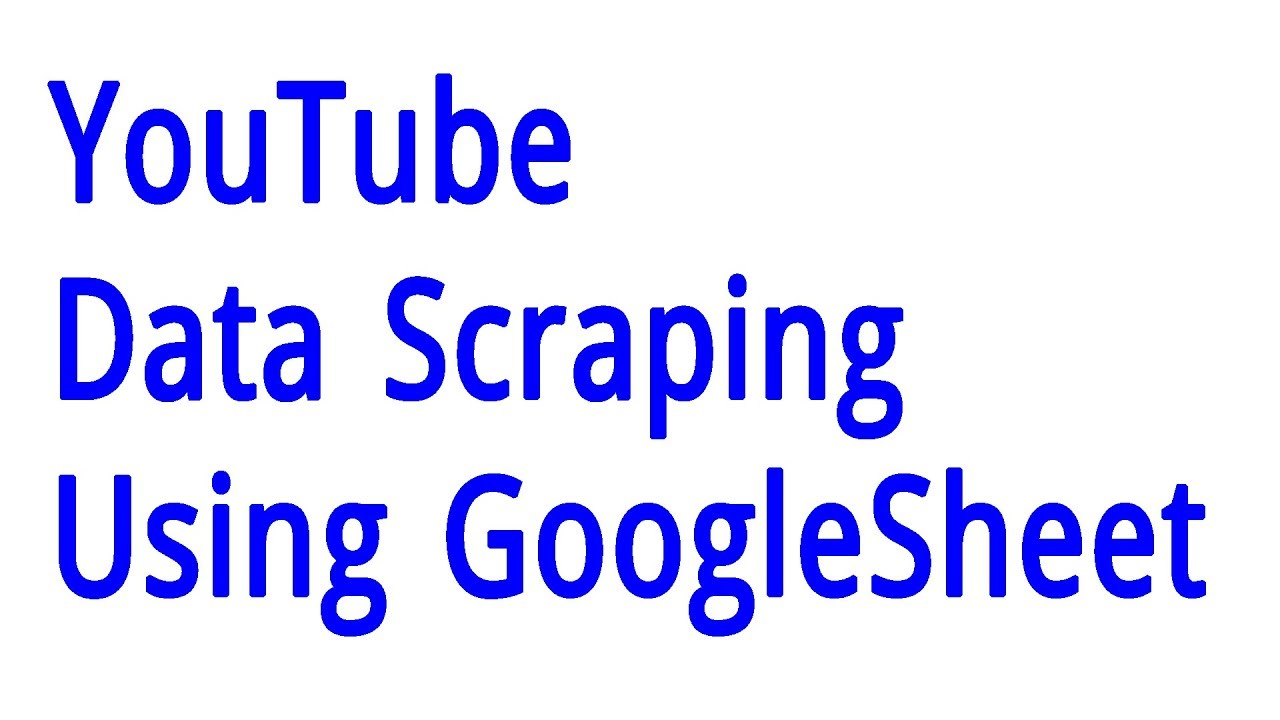 YouTube Data Scraping | Web Scraper | Web Scraping using web scraper chrome  extension | Data scraper