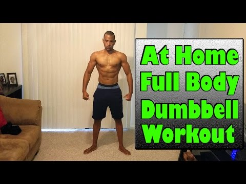 Full Body Workout With Dumbbells To Burn Fat