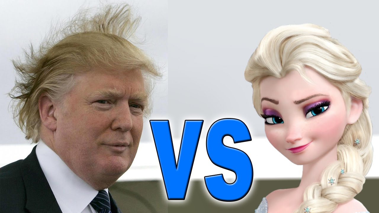 donald trump vs elsa youtube. Black Bedroom Furniture Sets. Home Design Ideas