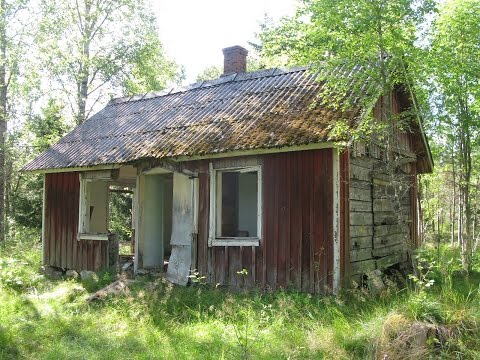 Övergivet hus i Dalsland 2013