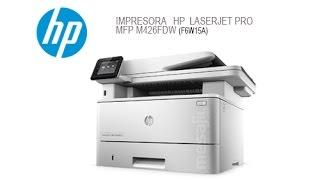 Unboxing HP LaserJet Pro MFP M426fdw