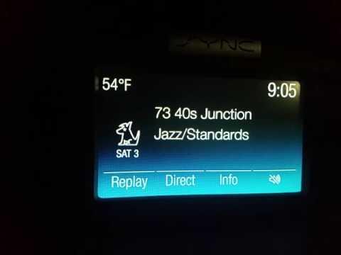 Sirius XM Satellite Radio Band Scan