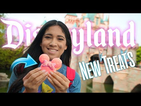 NEW Treats You Have to Eat at Disneyland! | Disney Food 2018