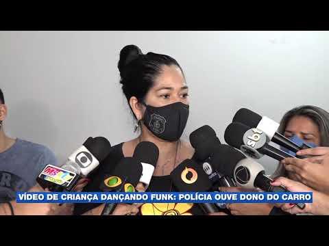 Polícia procura responsáveis por criança filmada dançando funk em cima de carro em Manaus