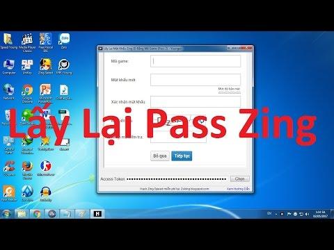 cách hack pass zing me không cần mật khẩu - Cách Lấy Lại Mật Khẩu Zing ID 2017 Bằng Mã Game (Pass 2) New!!!