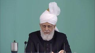 Hutba 07-08-2015 - Islam Ahmadiyya