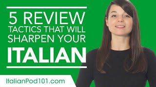 5 Self Study Strategies for Learning Italian