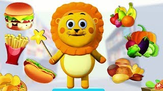 Learn Healthy Vs Unhealthy Food | Educational Cartoons for Children | ABC Learning Club