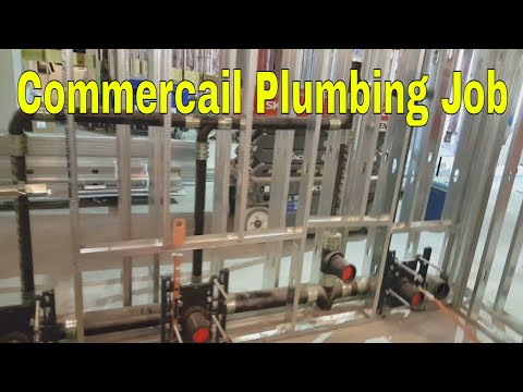 Basic Commercial Plumbing | How To Plumbing