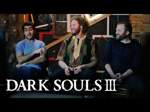 Cast Members of Silicon Valley Play Dark Souls III (Official)