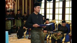 Dr Sahruddin sworn in as new Johor Menteri Besar