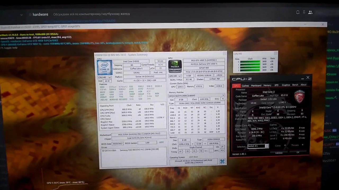 Coffee Lake CPUs on Skylake or Kaby-Lake motherboards – Yes it works