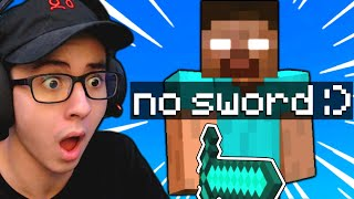 I Fought a CHEATER in Minecraft Bedwars 1v1...