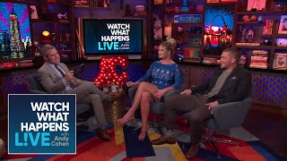 Hannah Ferrier And Adam Glick Spill The YachTea! | #BelowDeckMed | WWHL