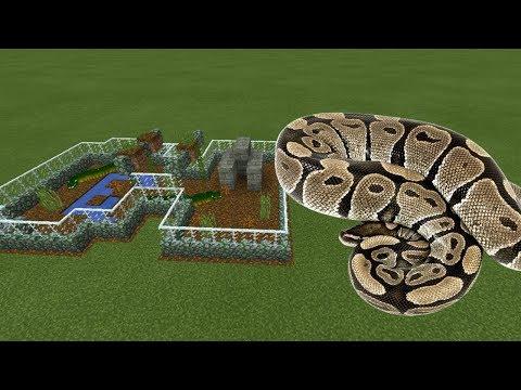 How To Make An ANACONDA Farm In Minecraft PE | MCPE Journalist
