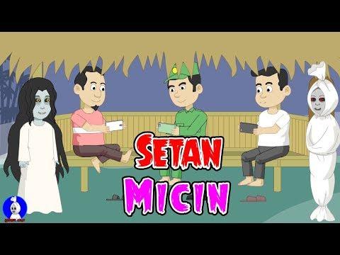 Setan Micin☠Nonton Tv☠Pocong Main Mobile Legends☠Horor Lucu Episode 32