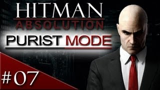 Hitman Absolution Purist Mode Walkthrough: Part 7 - Run for Your Life - [HD] Gameplay