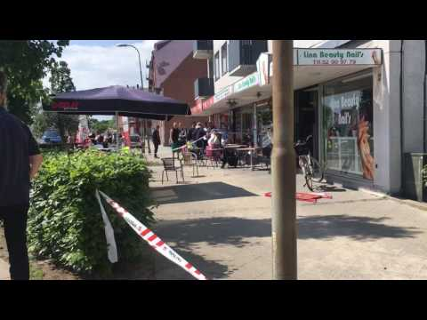 Knivstikkeri i Nyborg