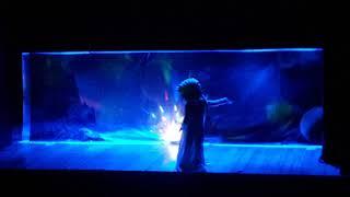 Nisa Frozen  Elsa  Yenilmezler  Uğurböceği  ve  Kara kedi tiyatrosunda