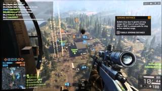 Battlefield 4  AWESOME TOP 10 SNIPER KILLS