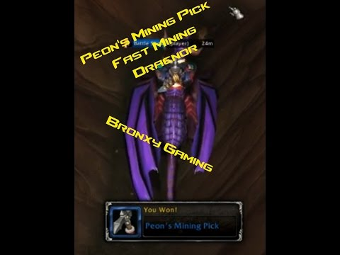 World Of Warcraft-Peon's Mining Pick| Lets Farm