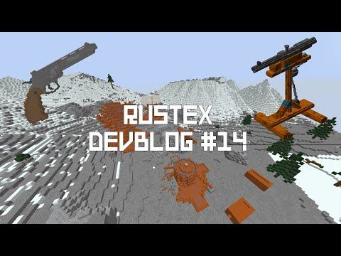 Rust MC: Rust Minecraft Server 1.12.2 [Shotgun Trap,New Weapons And More]