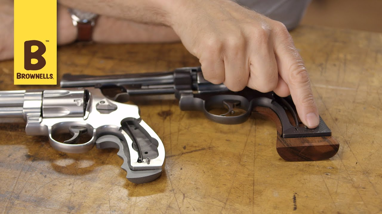 Quick Tip: Smith & Wesson Revolvers Square Butt vs. Round Butt - YouTube