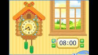 Mult.Clock, Learning time(Часы. Изучаем время)