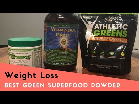 Best Green Superfood Powder Drink for Weight Loss