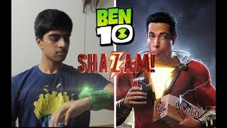 Ben 10 Transformation  - Shazam