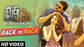 Download Hindi Video Songs - Khaidi No 150 Video Songs Back To Back | Chiranjeevi, Kajal | Rockstar Devi Sri Prasad