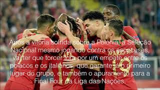 Escócia VS Portugal (14 de Outubro)