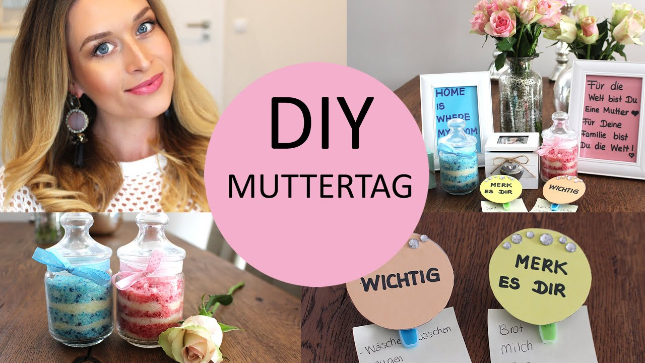 Diy zu muttertag youtube for Diy muttertagsgeschenke