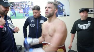 BILLY JOE SAUNDERS (& TYSON FURY)  STRAIGHT FROM THE RING - IMMEDIATE REACTION TO WORLD TITLE WIN