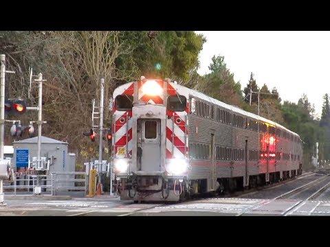 Caltrain Action at Menlo Park - January 24th, 2020