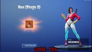 UNLOCKING *NEW* ROX STAGE 2 Outfit on Fortnite Battle Royale Season 9