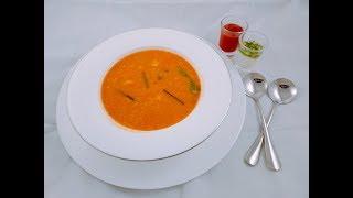 ৬ মিনিটে রেস্টুরেন্ট স্টাইলে থাই সুপ ।। Bangladeshi Restaurant style Thai Soup    Thai soup