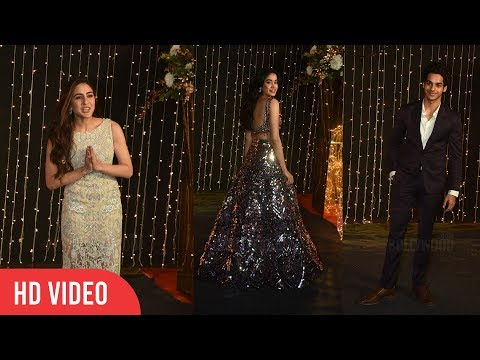 Bollywood's New Talent 2018 | Janhvi Kapoor, Ishaan Khatter, Sara ali Khan @ Priyanka-Nick Reception