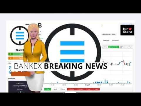 Cryptocurrency BANKEX $BKX Has Risen 40% During the Past 24 Hours 8