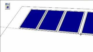 Solar Energy Design & Analysis Plugin for Google SketchUp - Ver 1.0.1 - Solar panel