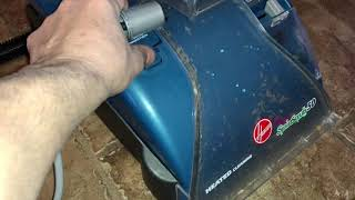 How to use your hoover spin scrub steam vac vacuum