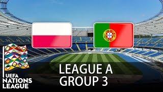 Download Video Poland vs Portugal - 2018-19 UEFA Nations League - PES 2019 MP3 3GP MP4