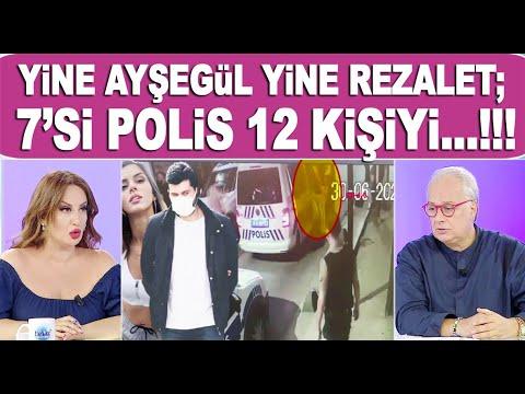 Ünlü oyuncu Ayşegül Çınar'ın eski sevgilisi Furkan Çalıkoğlu, 7'si polis 12 kişiyi...