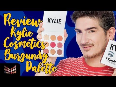 Burgundy Palette de Kylie Cosmetics - Vale la Pena ?