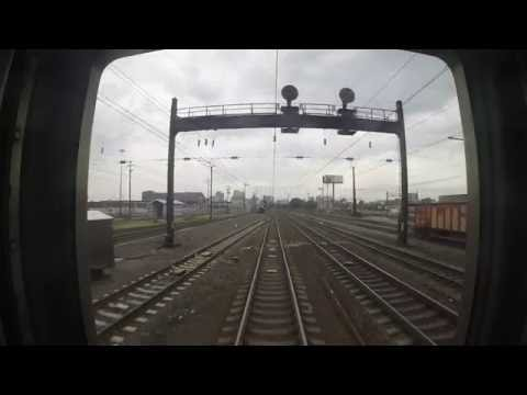 Amtrak Train 172 - Newark to Penn Station Rear View (GoPro)